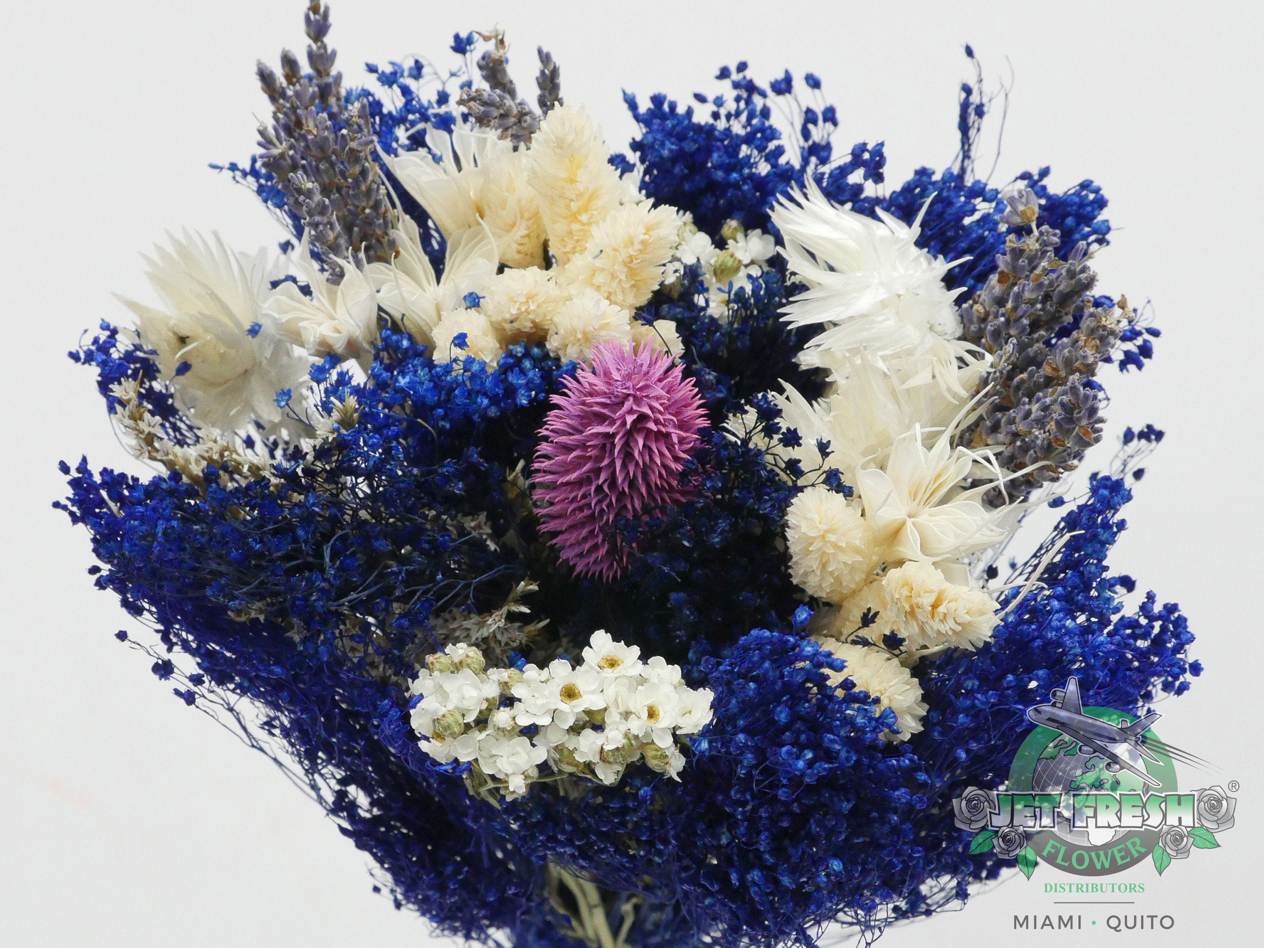 Dried Blue Assorted Bouquets