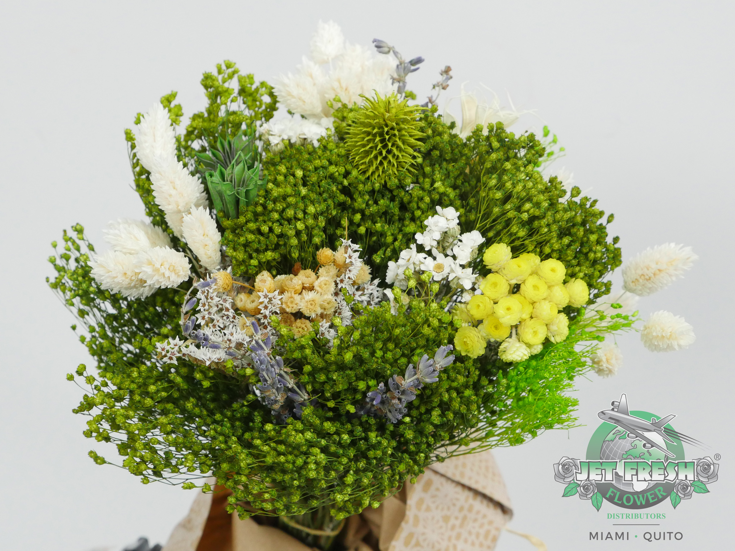 Dried Green Assorted Bouquets