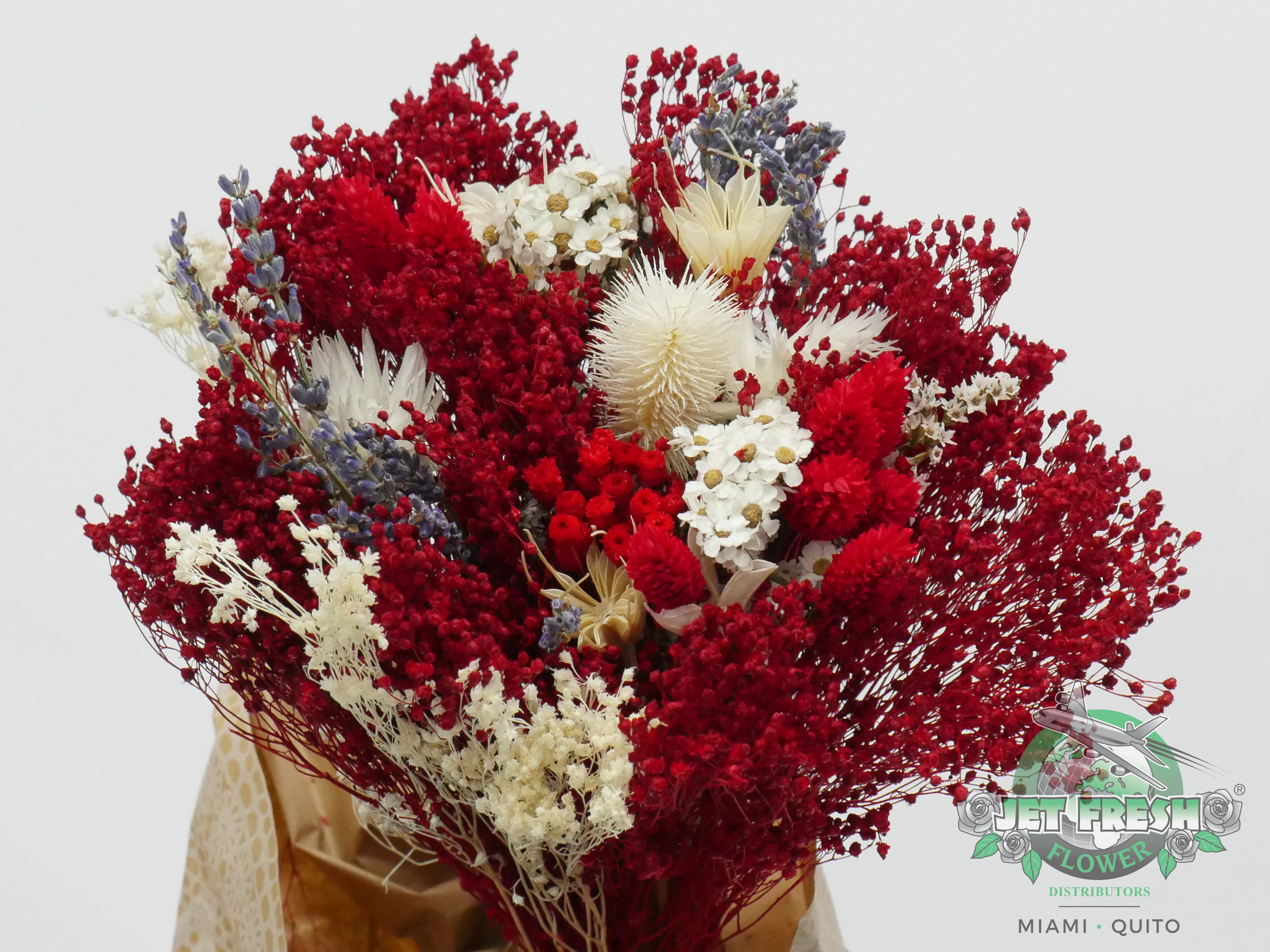 Dried Red Assorted Bouquets